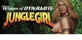 WOMEN OF DYNAMITE JUNGLE GIRL STATUE