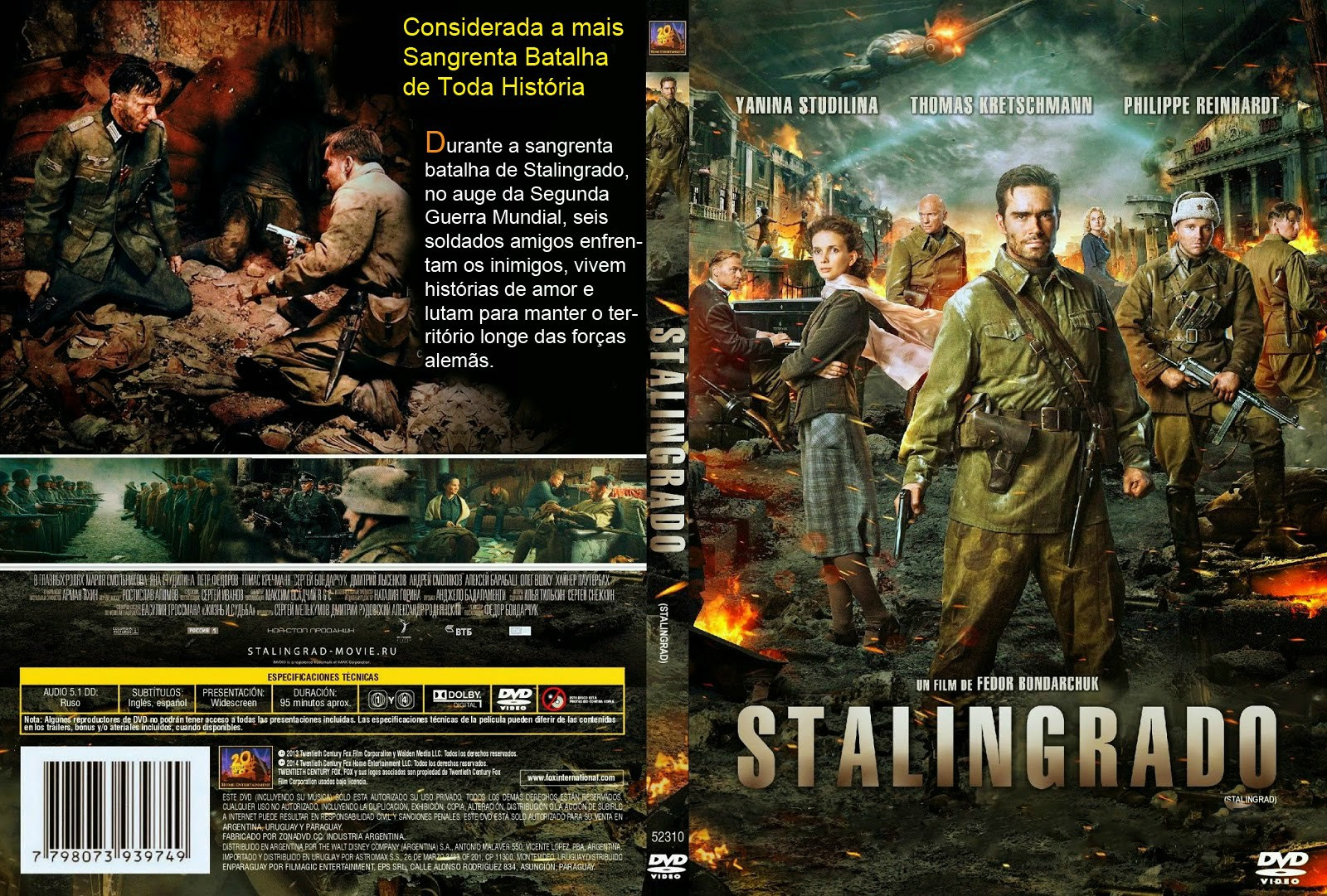 Stalingrado – A Batalha Final Torrent – BluRay Rip 1080p Dual Áudio 5.1 (2014)