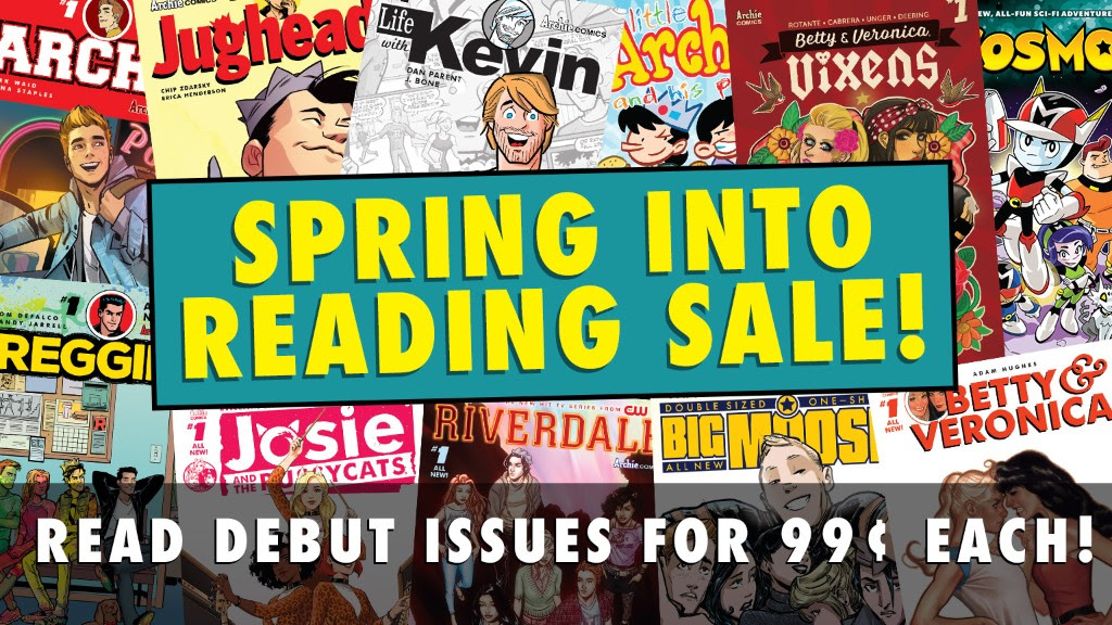 Spring into Reading Sale