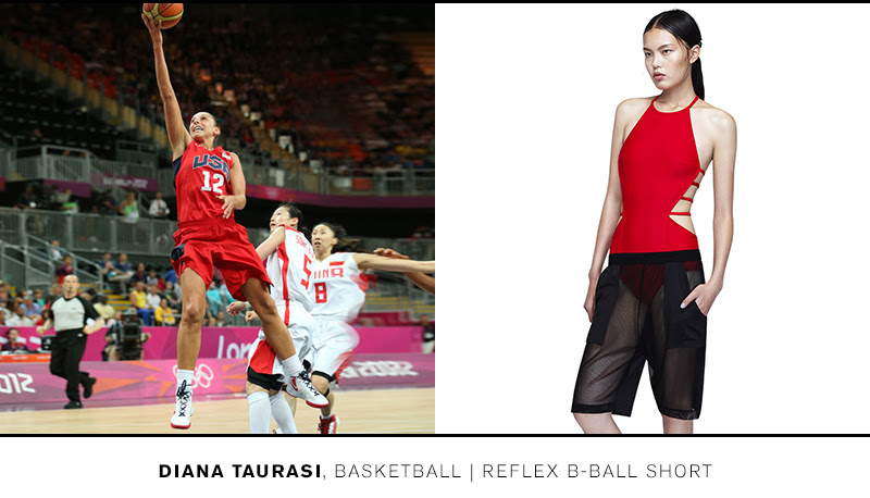 Train like Diana in the Reflex B-Ball Short >