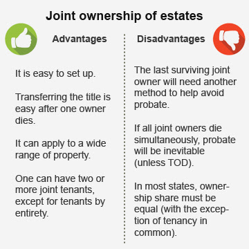 Joint ownership of estates