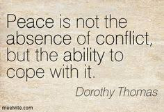 Conflict quote image
