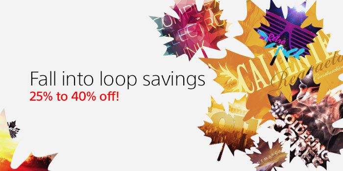 Save 25% off on all loops. Save 40% off when you buy five or more at SonyCreativeSoftware.com