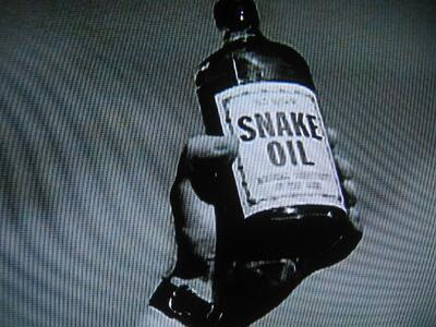 Hoaxsters snake oil
