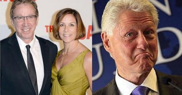 Tim Allen Reveals SICK Thing That Happened The Night He And His Wife Met Bill Clinton [VID]