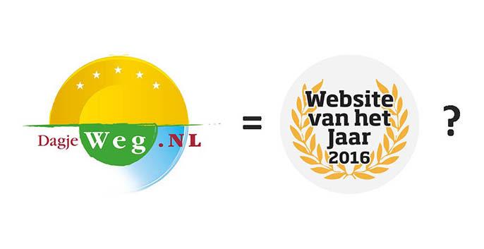Stem op DagjeWeg.NL voor Website van het Jaar 2016!