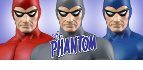 "THE PHANTOM 12"" STATUES"