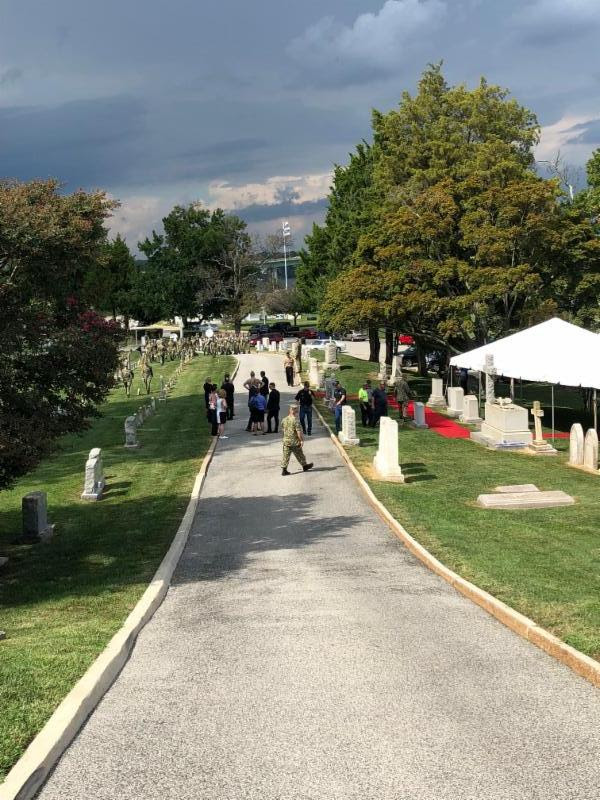 McCain burial site