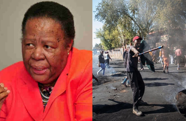 South Africa blames Afrophobia for violence against foreigners