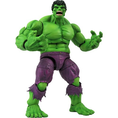 Image of Marvel Select Rampaging Hulk Action Figure - FEBRUARY 2021