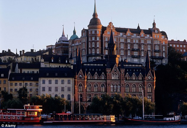 Stockholm in Sweden, one of the top countries in the world to live, with Australia coming in at first