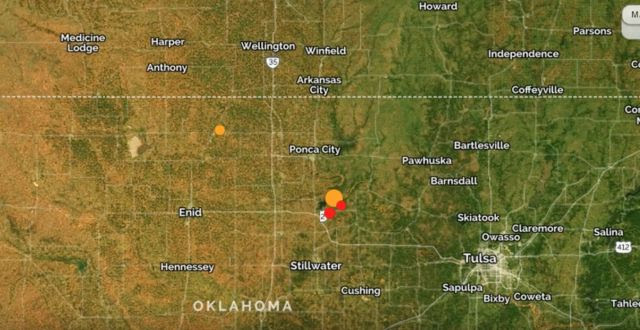 Dahboo77 Video: Earthquake Rocks Oklahoma, 5.6 Quake Felt In 4 States, Damage to Buildings