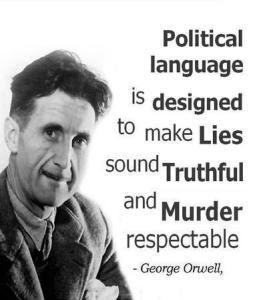 October Newsletter from James Gilliland George_orwell