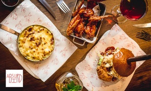 American-Inspired Three-Course Meal, Multiple Locations
