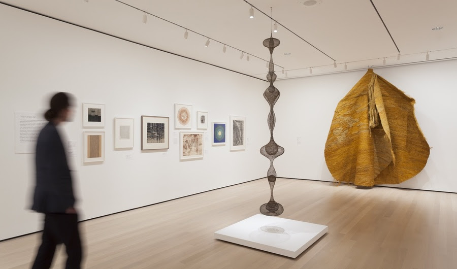 MoMA Unearths Female Abstractionists que têm languished em armazenamento