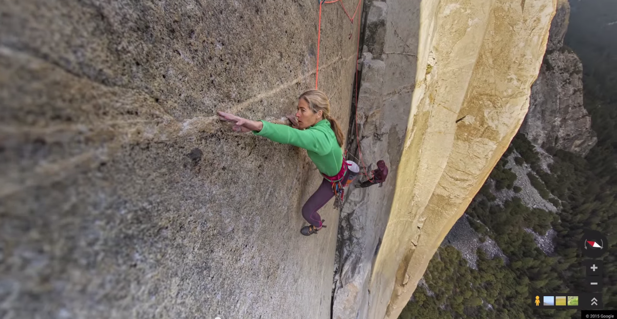 Google scales El Capitan for first-ever vertical Street View collection