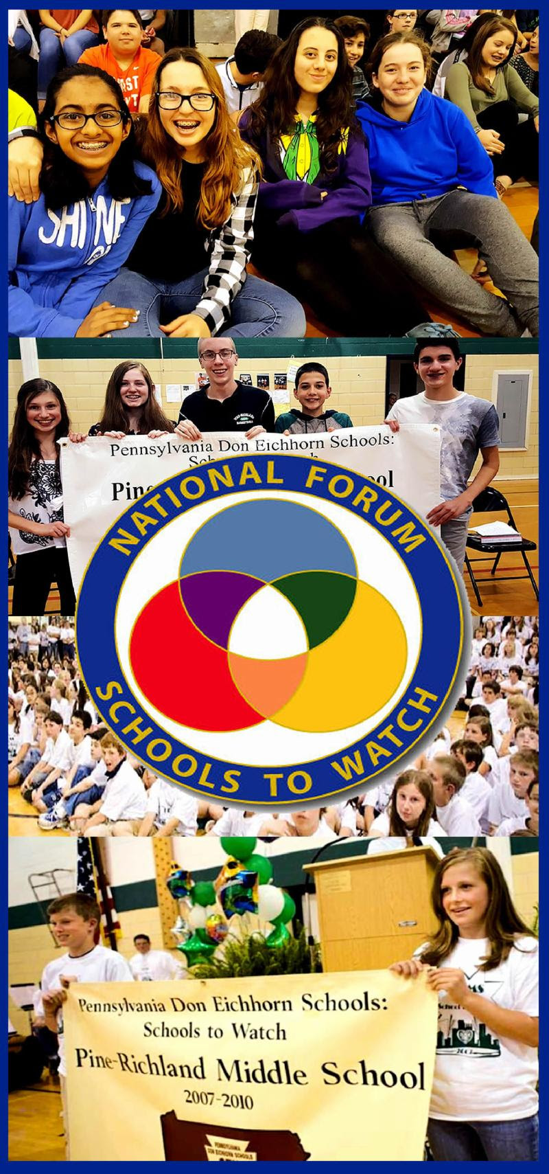 Previous Schools to Watch Recognition Programs at PRMS