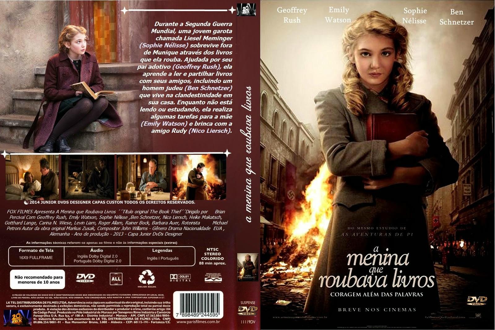 3pmIcKf A Menina Que Roubava Livros Torrent   BluRay Rip 720p | 1080p Dual Áudio 5.1 (2014)