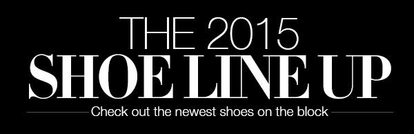 the shoe line up