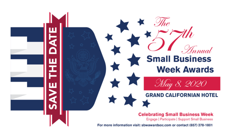 save the date small business week