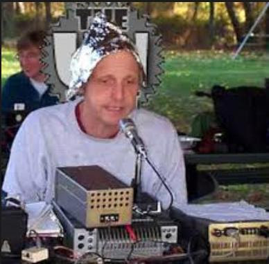 tin foil hat guy funny photo