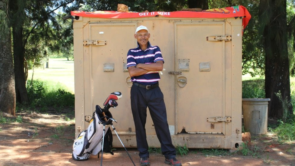 The long shot that changed a homeless caddie's life
