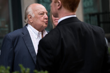 Lawyers for Roger Ailes said on Tuesday that he had not paid any money toward Gretchen Carlson's $20 million settlement.