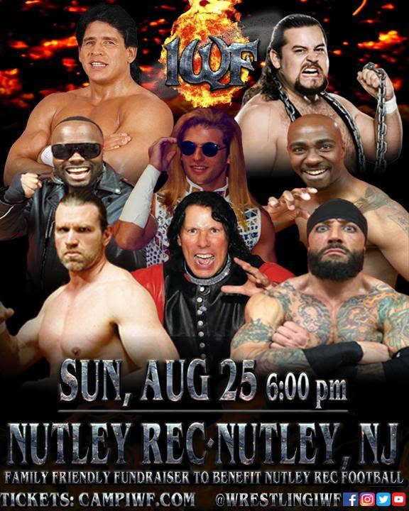 IWF Live Event | Sun Aug 25 | Nutley, NJ