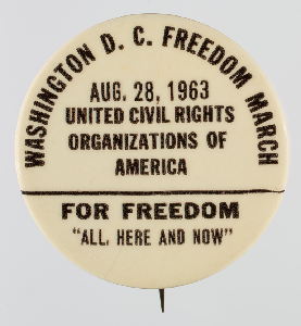 The March on Washington for Jobs and Freedom Took Place 1963