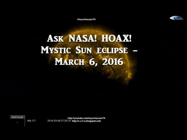 Breaking news! Mystic Sun eclipse - March 6, 2016. NASA HOAX!  Sddefault