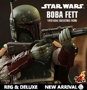 HOT TOYS STAR WARS EP VI: 1/6 BOBA FETT