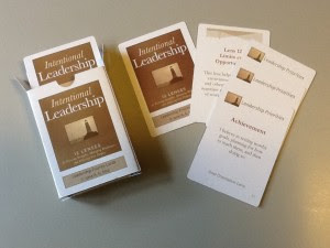 Intentional Leadership Priority Cards