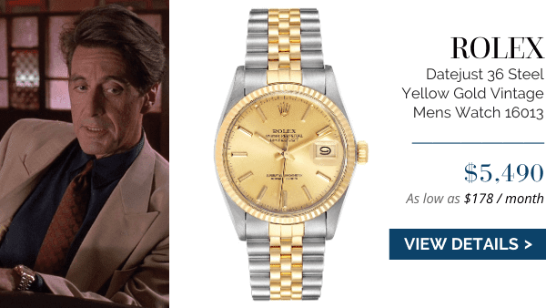 Datejust Steel Yellow Gold Vintage