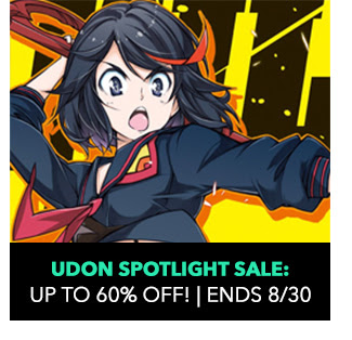 Udon Spotlight Sale: up to 60% off! Sale ends 8/30.