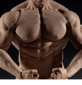 SUPER-FLEXIBLE 1/6 SCALE SEAMLESS MR. BIG BODY