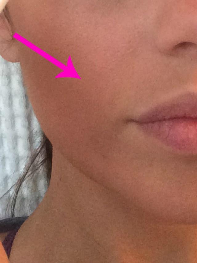 cheek contour