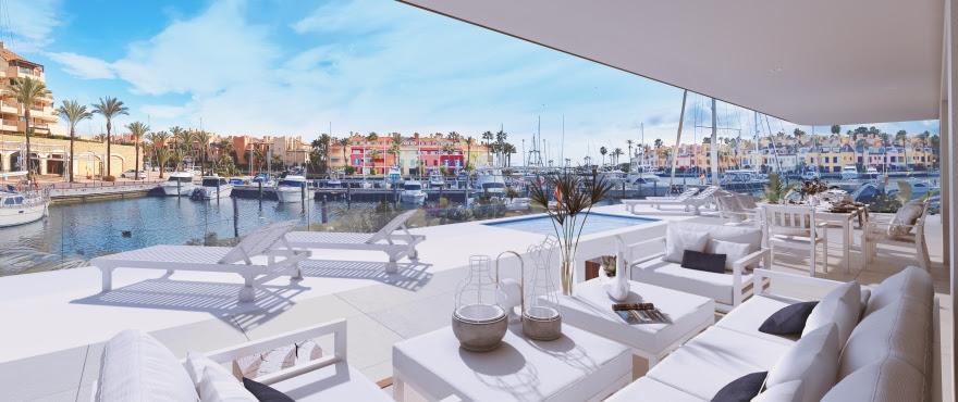 Pier 1, exclusive 4-bed apartments and penthouse in La Marina de Sotogrande