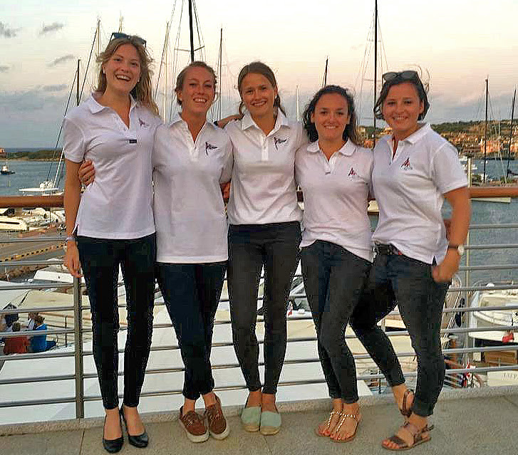 German women's J/70 team- Lady Like