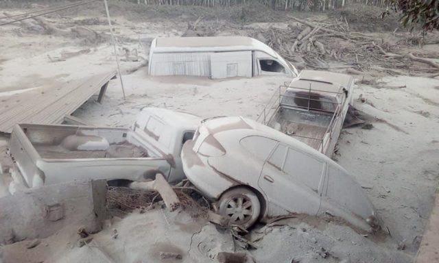 ALERTA MAXIMA EN GUATEMALA POR ERUPCION DEL VOLCAN DE FUEGO: Al menos 38 muertos