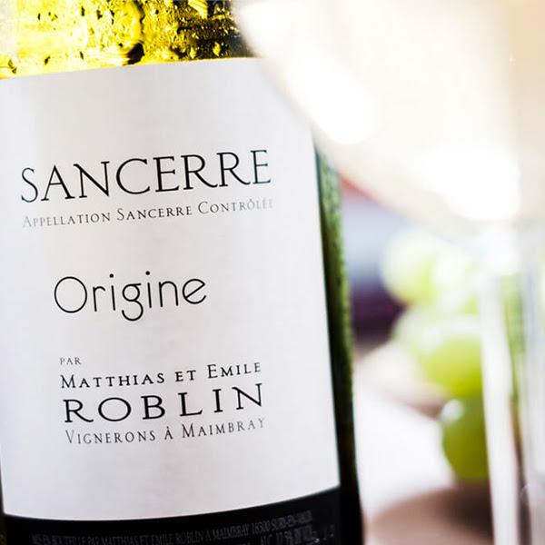 Bottle of Sancerre Origine by Matthias et Emile Roblin 2019