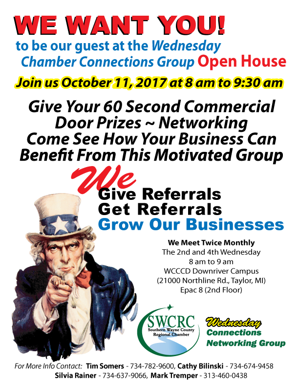 SWCRC Wednesday Connections Group Open House! @ Taylor | Michigan | United States