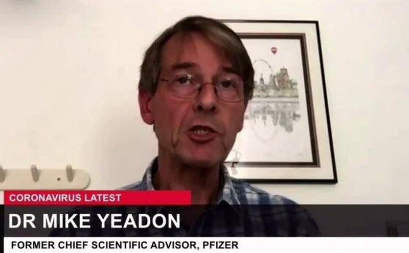 """Former Pfizer Chief Scientific Officer on Experimental COVID Injections: """"I Have Absolutely no Doubt that we are in the Presence of Evil"""" Dr.-Mike-Yeadon"""