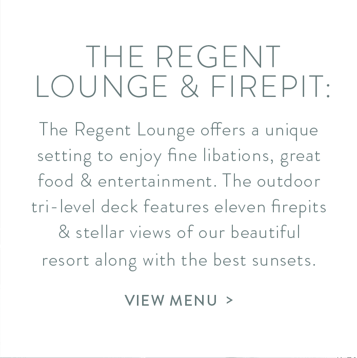View the menu of the Regent Lounge & Firepit