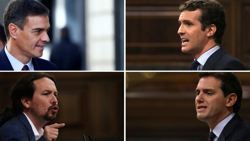 Arranca la campaña para las elecciones generales en España: Conozca quién es quién