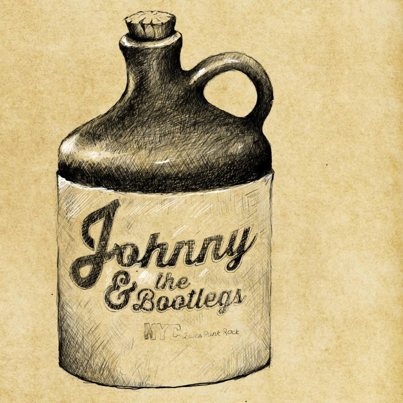 """Johnny & the Bootlegs """"NYC Rags"""" EP"""