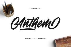 Anthem Typeface