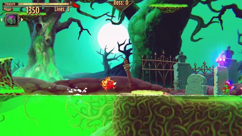 Aqua Lungers - Screenshot