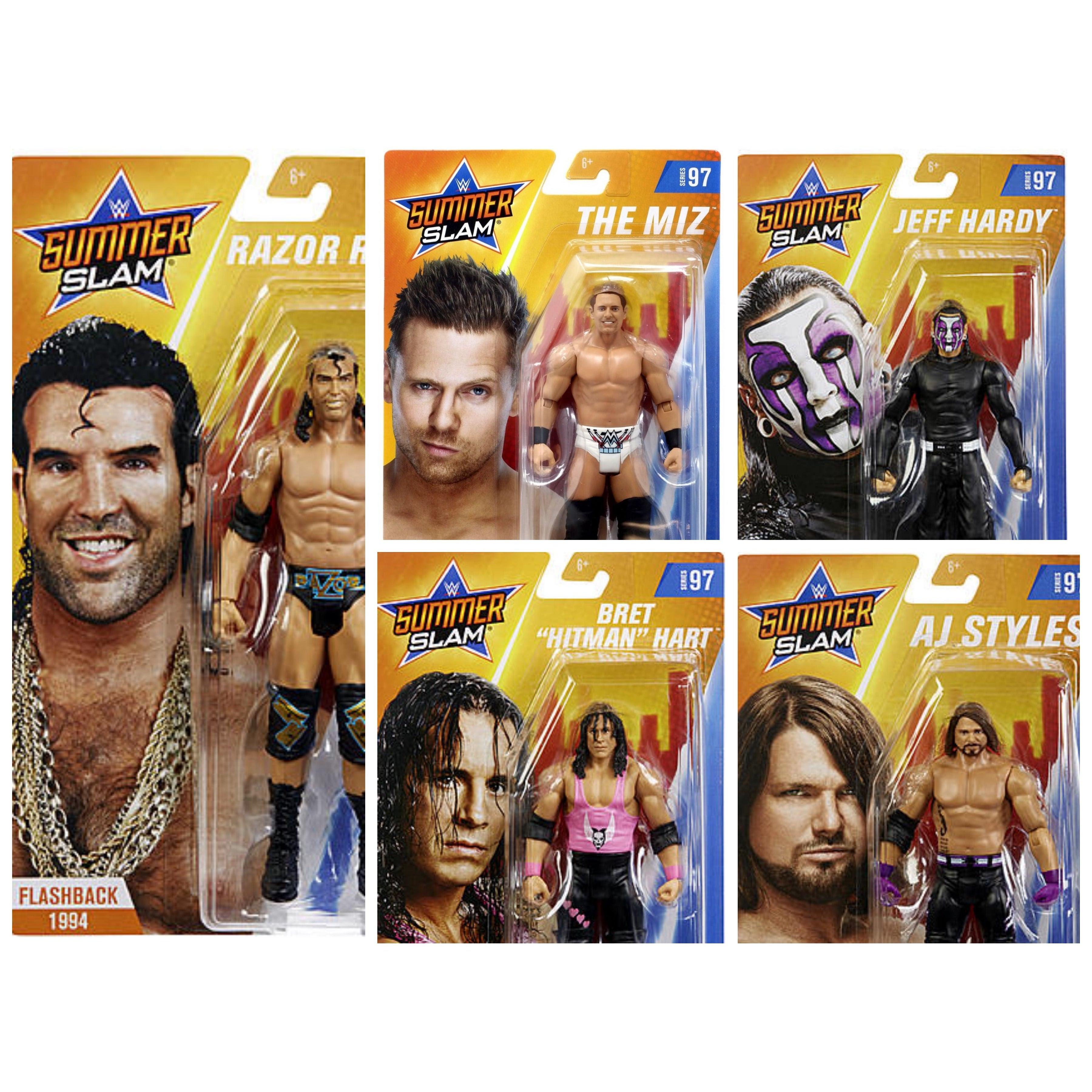 Image of WWE Basic Series 97 - Set of 5 - JULY 2019