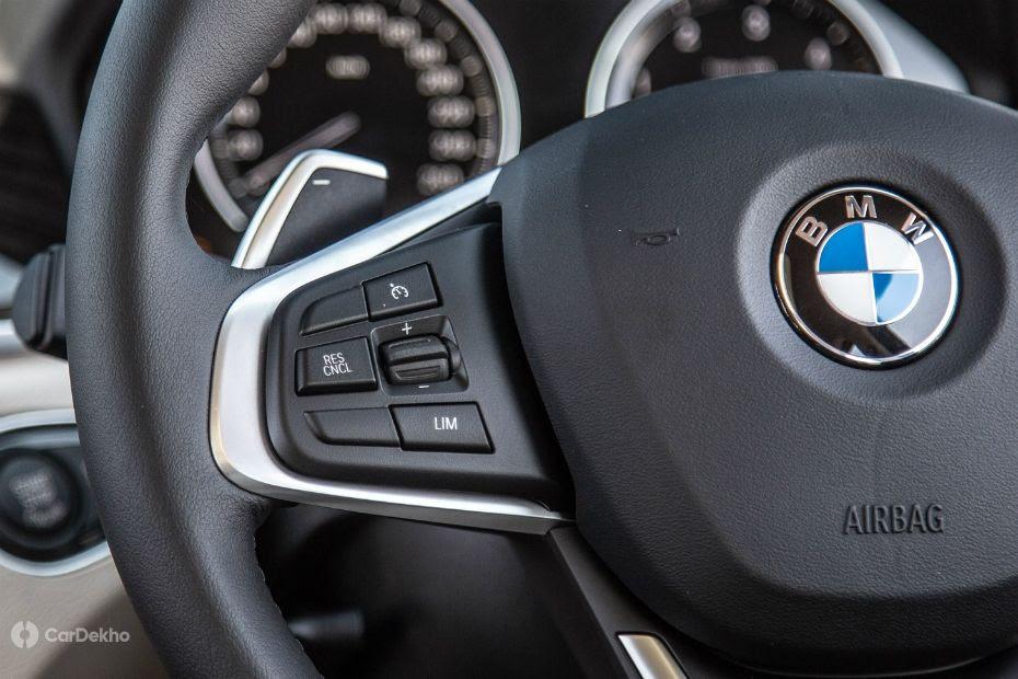 BMW X1 cruise control