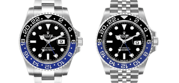 Rolex GMT Master II Batman 116710 BLNR vs 216710 BLNR